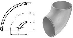 90° Short Radius Elbow Pipe Fitting Supplier
