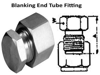 Blanking End Compression Tube Fittings