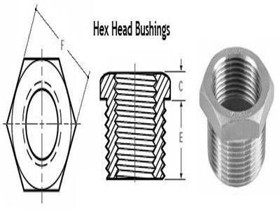 Threaded Bushing - ASME B16.11, BS 3799